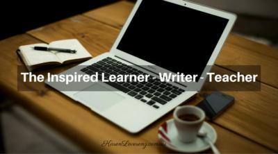 the inspired learner writer teacher