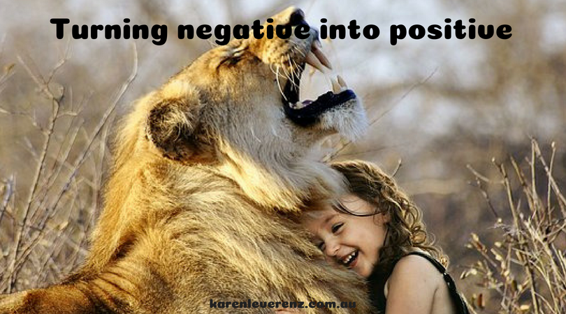 Turning a negative situation into a positive outcome